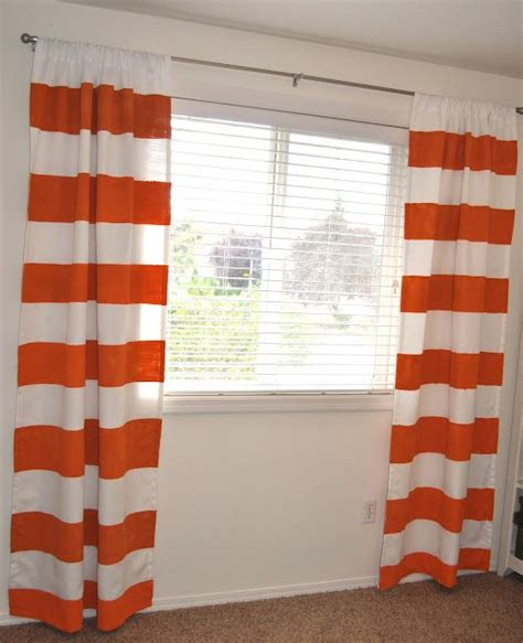 orange and white curtain panels acrylics big boy rooms and white curtains on pinterest