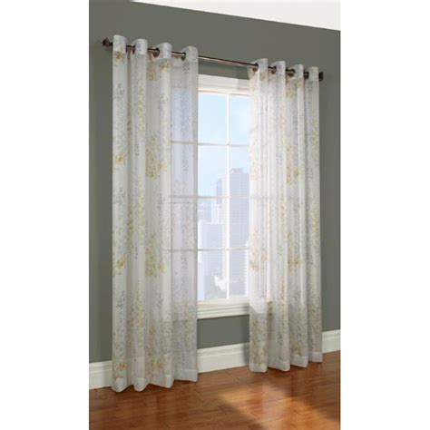 lowes drapes commonwealth home fashions hannna grommet curtain panel
