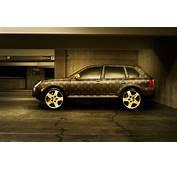 Louis Vuitton Monogram Pattern Car Digital Art
