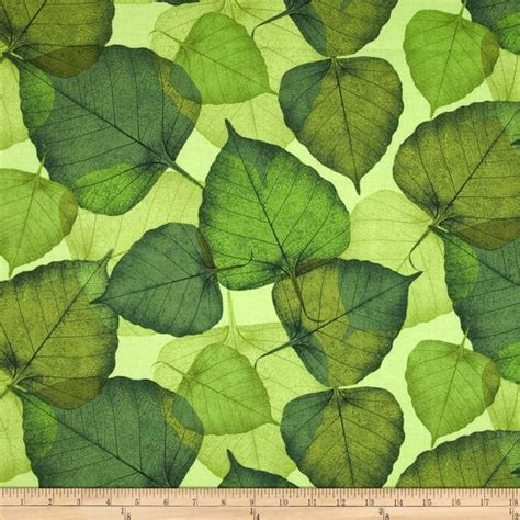 pattern for fabric leaves green leaf pattern fabric