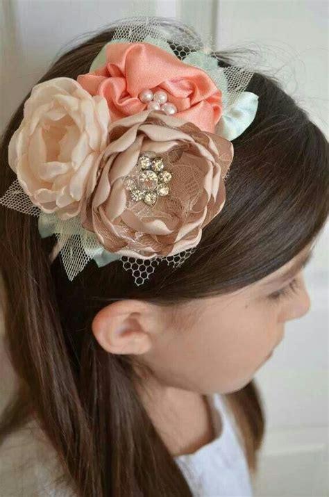 vintage style baby headband newborn headband bow diadema con flores de satin mo 241 os y diademas