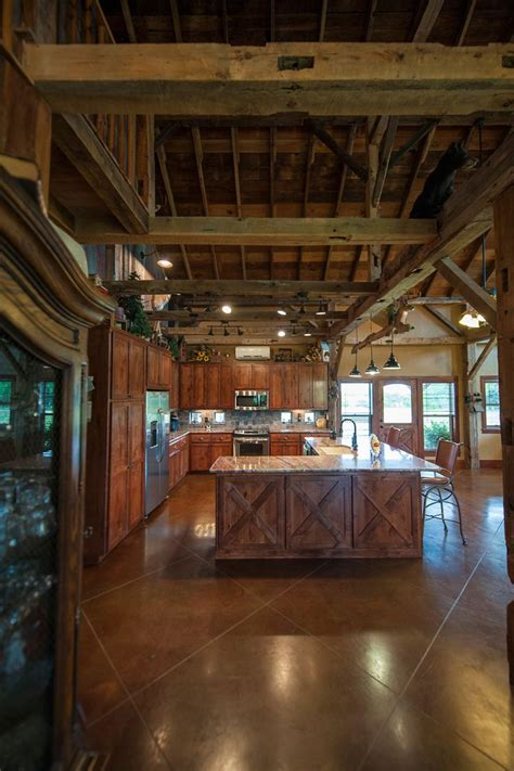 Barn Home Interiors by 25 Best Ideas About Stained Cement Floors On