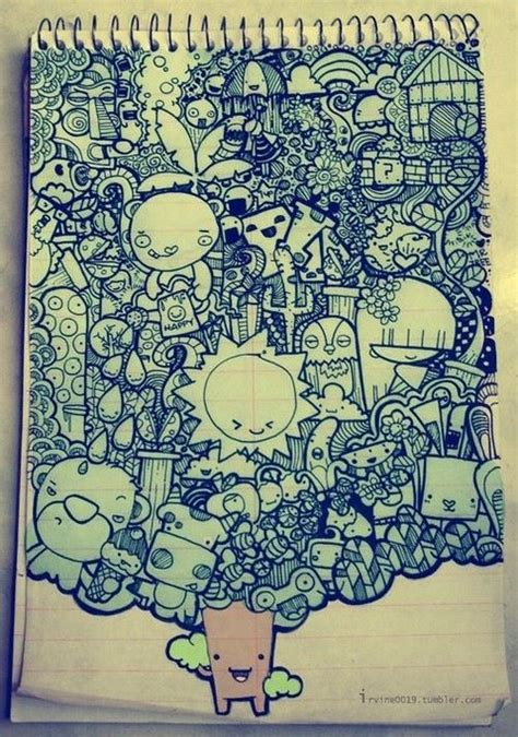 cool doodles so cool i would to doodle something like this