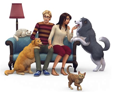 sims 4 dogs and cats the sims 4 dogs and cats ep boxart and render