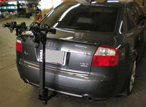 Bike Rack For Audi A4 by Audi A4 4dr Rack Installation Photos