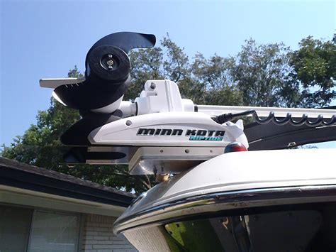 ski boat trolling motor minn kota i pilot install on robalo 227 dual console the
