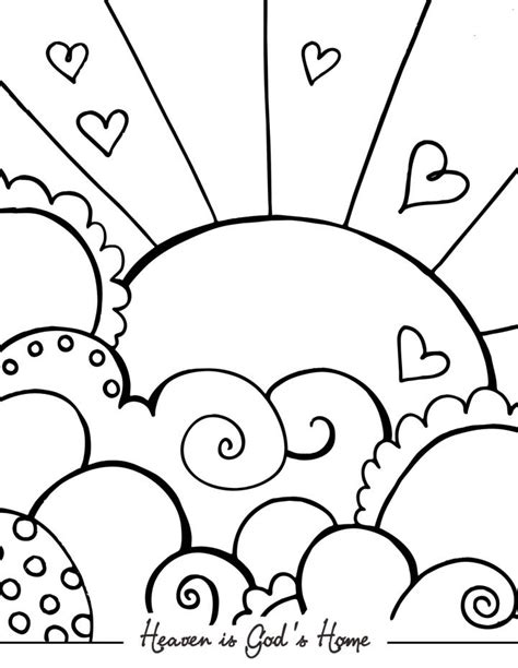 Bible Coloring Pages For Sunday School Lesson Sunday School Coloring Pages