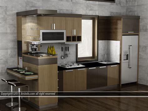 Kitchen Set by Contoh Desain Dapur Dan Kitchen Set Arsindo