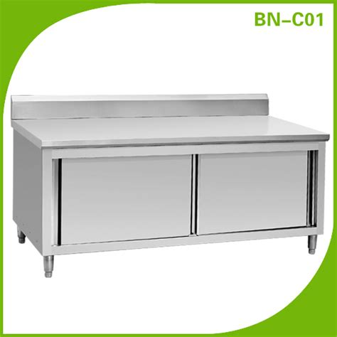 Commercial Kitchen Cabinets Stainless Steel Commercial Kitchen Stainless Steel Cabinet Bn C01 Buy Kitchen Cabinet Storage Cabinet