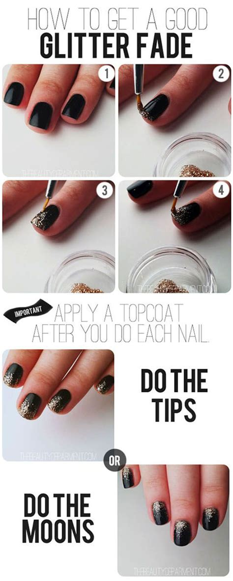 new year manicure design 2015 easy simple new year nail tutorials 2014 2015 for