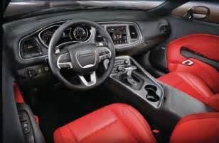 Dodge Challenger 2015 Interior 2015 dodge challenger exclusive look