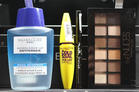 Make Up Maybelline New York kaufempfehlung maybelline new york make up koffer goodies lu bloggt by luise
