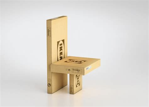 Flat Pack by Transforms Its Flat Pack Cardboard Packaging Into