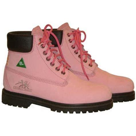 womens pink work boots popular green womens pink work