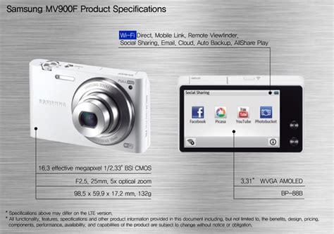 Kamera Samsung Mv900f samsung mv900f kamera pertama di dunia dengan pengenalan gerakan yangcanggih