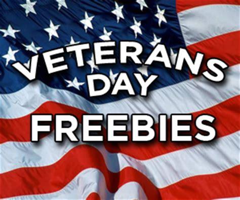 veterans day restaurant freebies & deals [2016