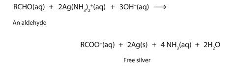 carbohydrates used in silvering of mirror properties of aldehydes and ketones