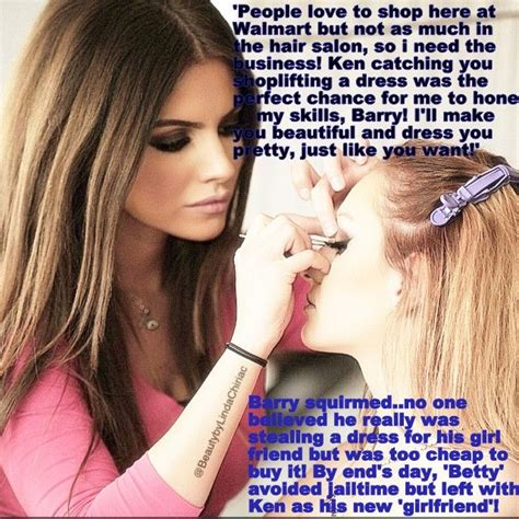 forced sissy salon stories pin by jennifer hart on sissy feminzation captions