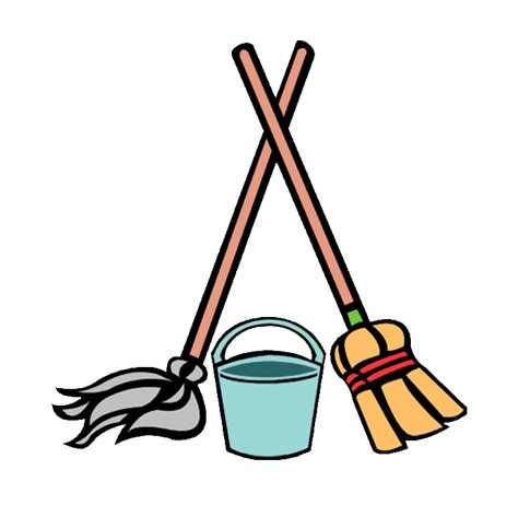 Time For Spring Cleaning by Mop And Bucket The Ericle