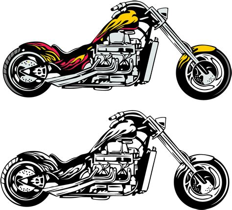 motorcycle clipart motorcycle clip images black and white