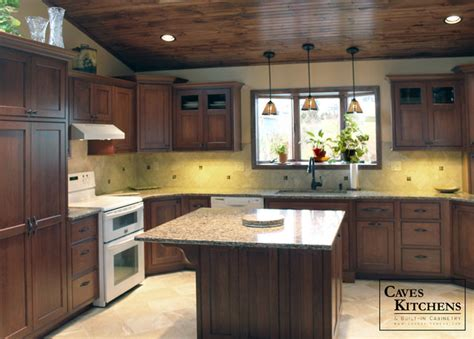 Kitchen Wood Ceiling by Transitional Kitchen With Wood Ceiling Desk Area