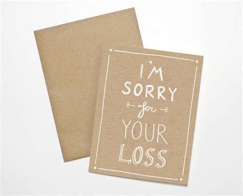 Im Paper - i m sorry for your loss card the paper cub co