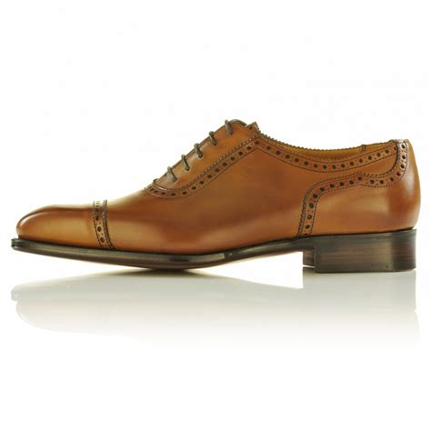 Handmade Mens Oxford Shoes - handmade oxford brogue style shoes dress shoes