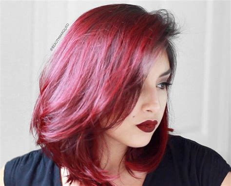 ambray hair color pics for medium length shoulder length red ombre hair www pixshark com images