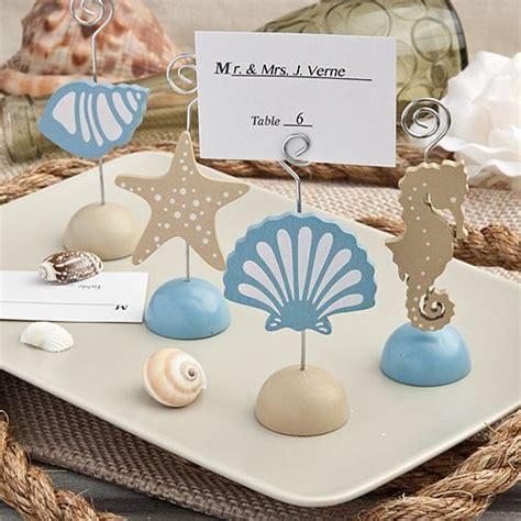 an the sea or beachside nautical place card holders nautical theme