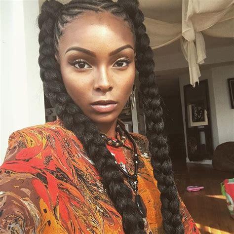 goddess hair style for black women best 25 goddess braids ideas on pinterest goddess braid