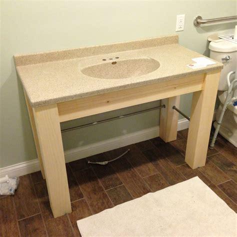 Ada Vanities by Make An Ada Compliant Vanity For Your Bathroom Christian