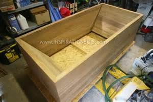 baignoire en bois sur mesure ofuro baignoires en teck