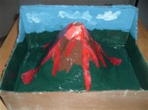 How To Make A Paper Volcano Step By Step - make a volcano project how things work