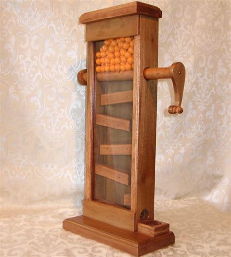 wooden gumball machine plans diy   trellis