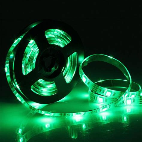 buy rgb led strip lights with battery box waterproof craft