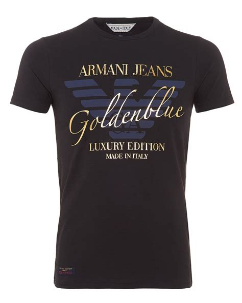 Fancy Shirt T Shirt For Limited Edition Navy armani t shirt navy blue limited edition slim fit