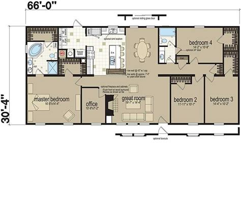 homes of merit floor plans floor plans the flamingo 0603b1 manufactured and