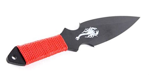 throwing handles scorpion throwing knife set with cord wrapped handle