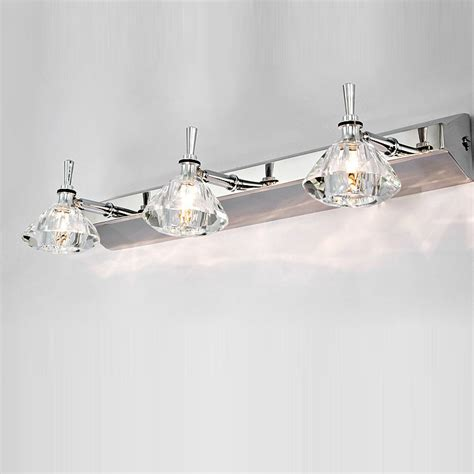 Discount Modern Bathroom Lighting Washroom Wall Light 3 Boxs Chrome