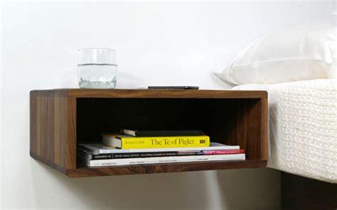 Floating Bedroom End Tables Floating Side Table By Urbancase Design Milk