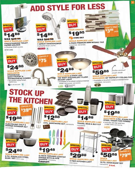 what time does home depot open up home depot black friday ad 2015 p5
