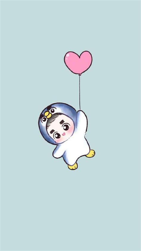 exo chibi iphone wallpaper 98 best exo fan art images on pinterest exo fan art