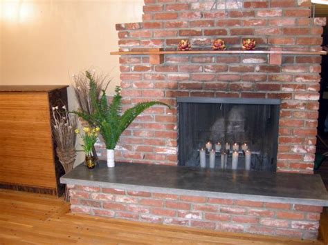 fireplace with hearth how to build a concrete fireplace hearth hgtv