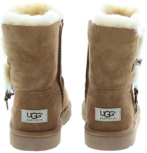 ugg bailey charm ugg boots in chestnut in chestnut