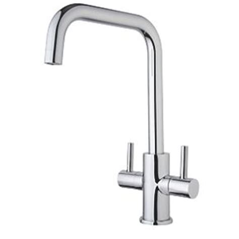 How To Fix A Kitchen Mixer Tap by Swirl Dual Lever Mono Mixer Kitchen Tap Chrome