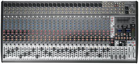 Harga Mixer Yamaha 32 Channel behringer sx3242fx eurodesk 32 channel mixer new