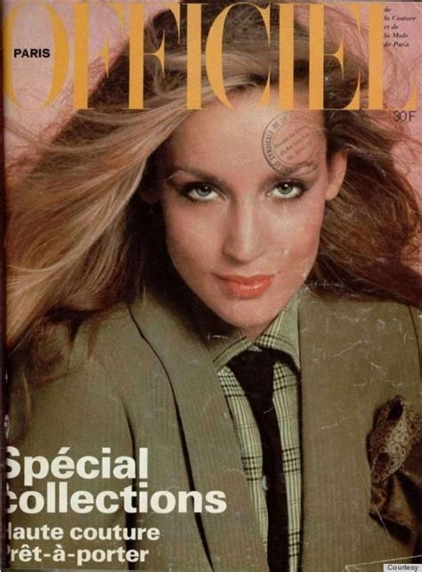 Best Makeup Vanity Jerry Hall S Magazine Covers Her Best Moments In The