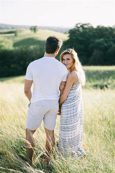 Ali & Lou: Summer Engagement Inspiration   Minnesota Bride