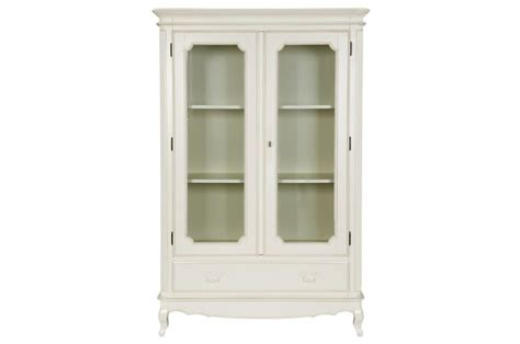 laura ashley armoire quot provencale quot armoire display cabinet with glass doors in