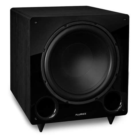 fluance db    frequency ported front firing